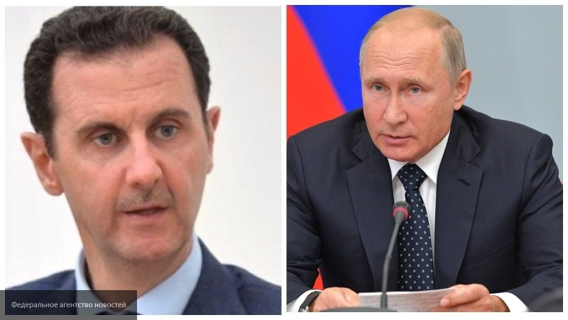 Путин в телефонном разговоре с Асадом подтвердил ответные меры РФ в связи с крушением Ил-20