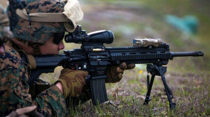 Американское оружие и советс…