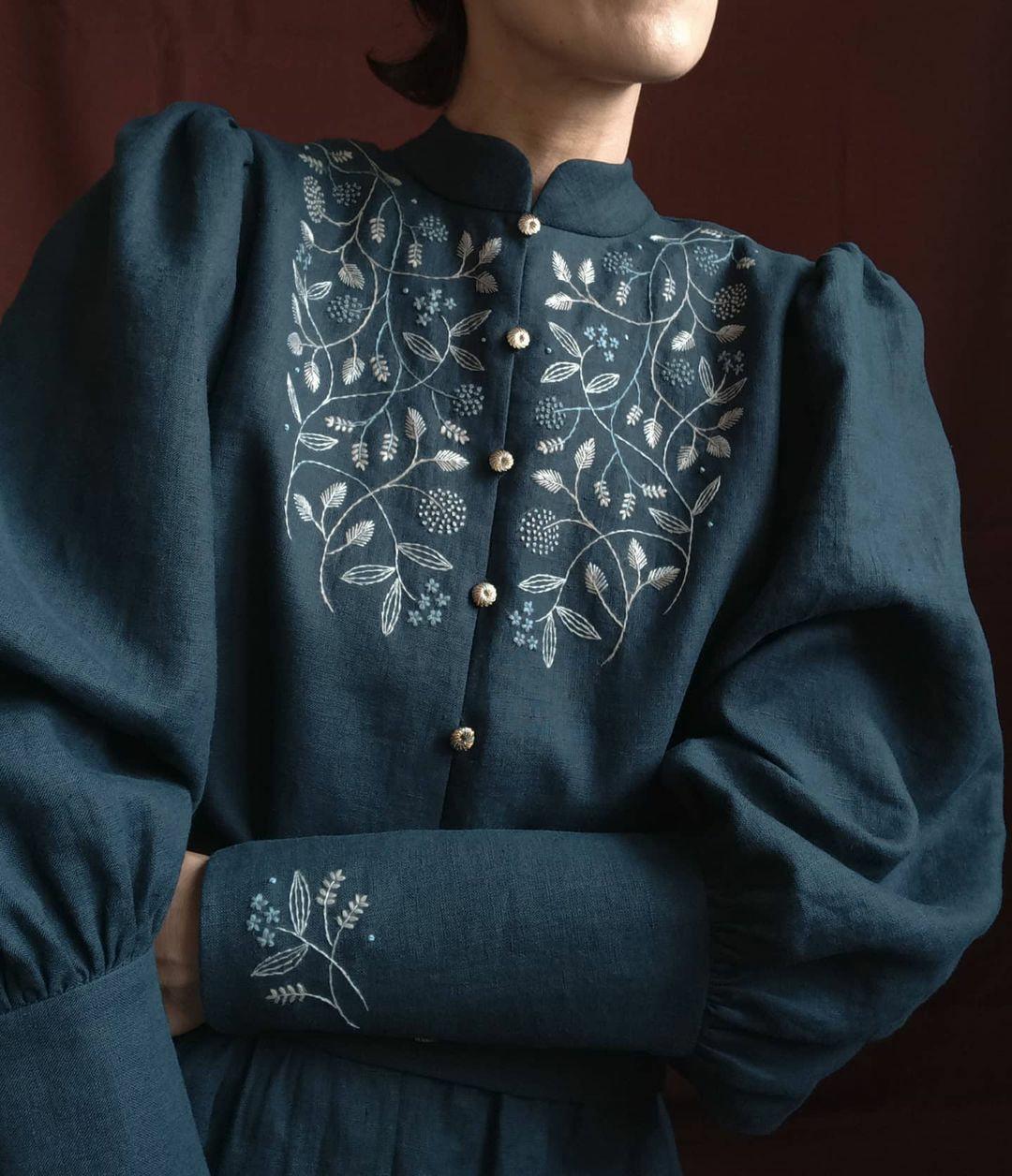 Платья и настроение вышивка,рукоделие,творчество