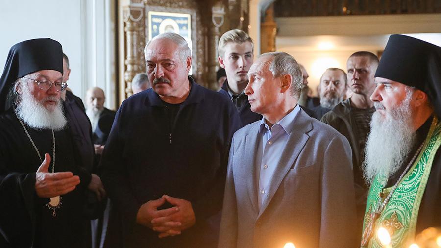 Лукашенко устроил истерику на Валааме