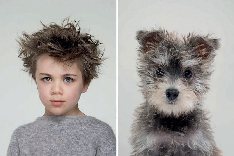 «Я и мой любимый человек»: фотопроект о невероятной схожести собак и их хозяев