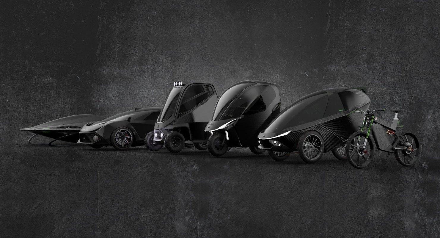 Daymak: сверхбыстрый трёхколёсный электромобиль и летающая тарелка из Канады Автомобили