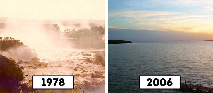 11 популярных туристических достопримечательностей, которых больше нет, потому что мы их уничтожили