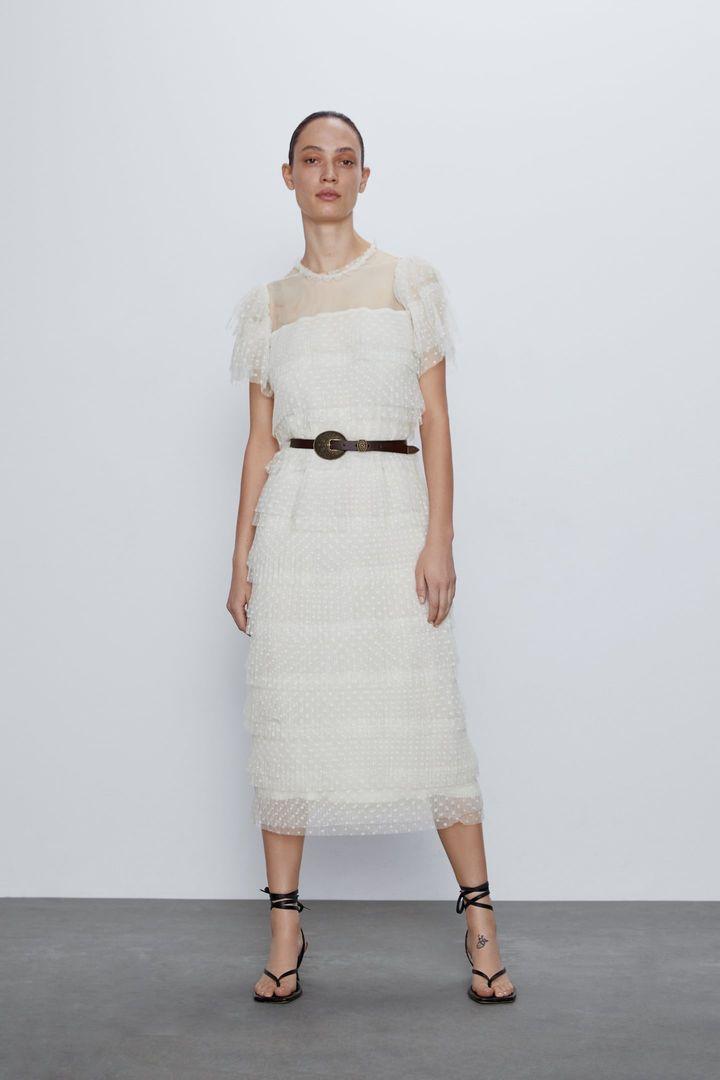 Платье, Zara, 3 999 руб.