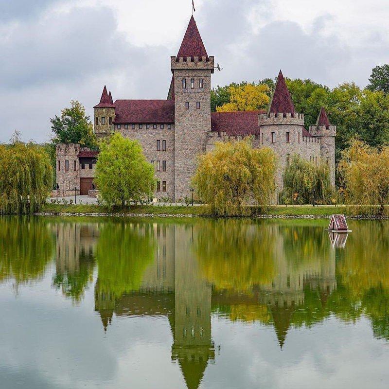 Замок Шато-Эркен, Кабардино-Балкария горы, леса, природа, природа России, российская природа, россия