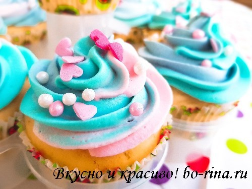 ДЕСЕРТНЫЙ ВИХРЬ. Радужные капкейки