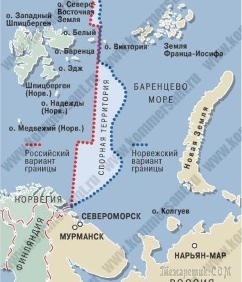 175 тыс. кв. км шельфа в Баренцевом море Земли, интересное, история, колонии, политика, россия, страны, упущенные