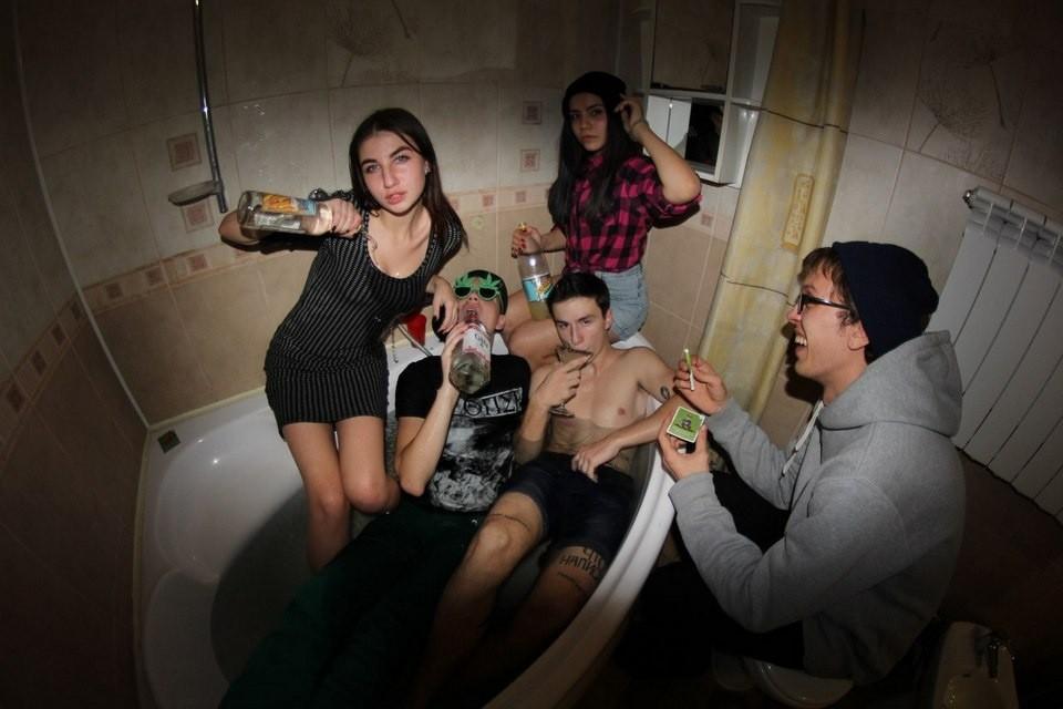 Молодежная пьянка видео — pic 5