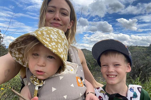 Хилари Дафф стала мамой в третий раз Звездные дети