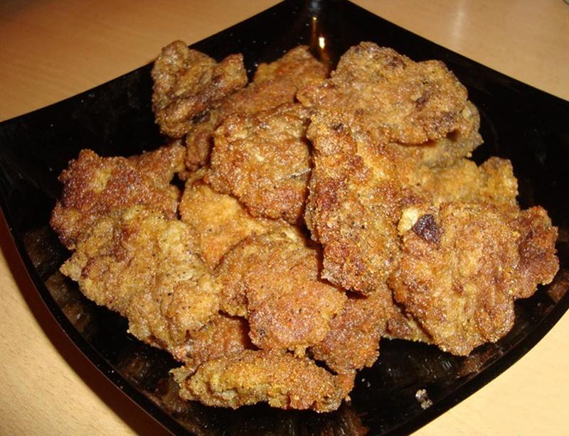 приготовление блюда из куриных сердечек