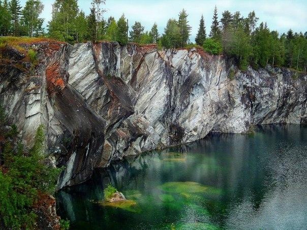 Горный парк Рускеала в Карелии