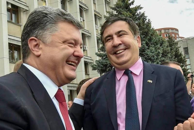 Порошенко и Саакашвили хотели служить в советской разведке новости, события, политика