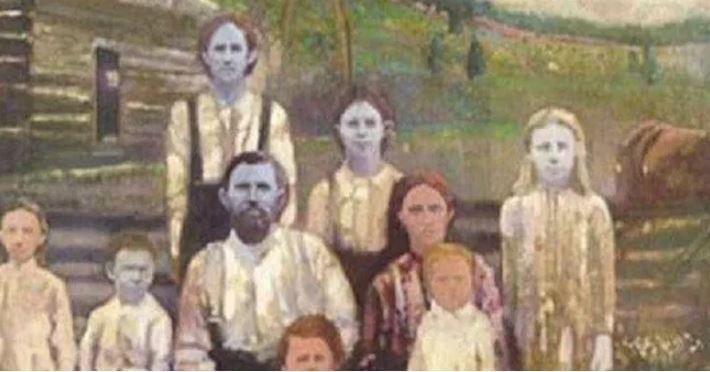 История семьи с голубой кожей: их прозвали -голубыми беглецами- и заставили жить в изоляции
