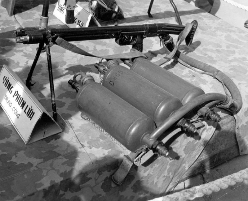 Огнемёт ЛПО-50 в СССР и за рубежом оружие
