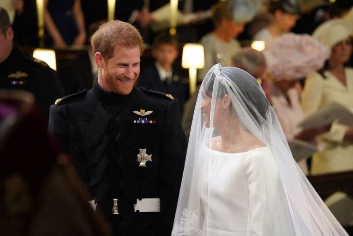 Свадебный наряд Меган Маркл за 200 тысяч фунтов стерлингов