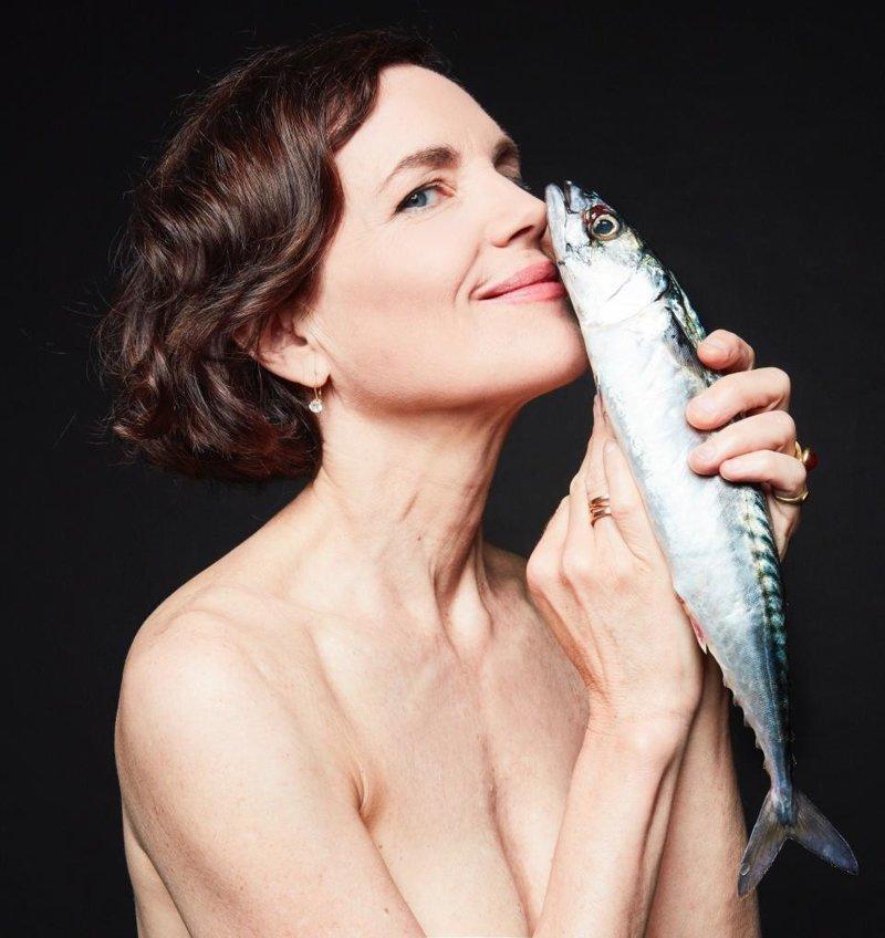Элизабет Макговерн ynews, голые активисты, животные, знаменитости, интересное, рыбки, фото
