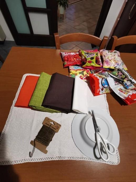 Текстильные тыковки как упаковка подарка: мастер-класс мастер-класс,поделки