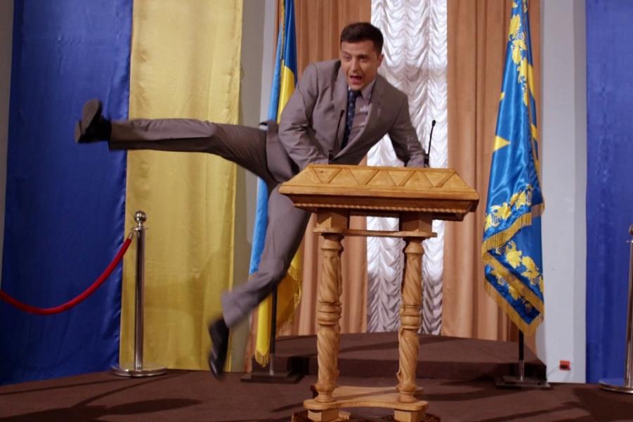 Два опроса, и в обоих Зеленский — номер один в украинской президентской гонке