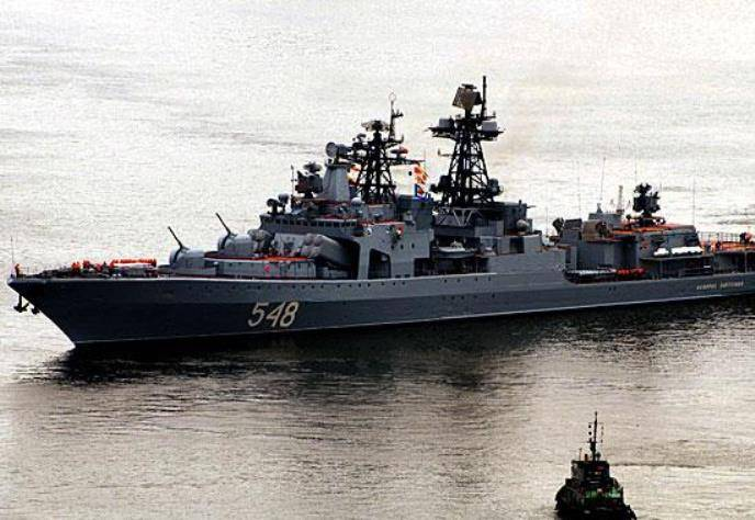 Около 20 кораблей ТОФ выполняют учебно-боевые задачи в море