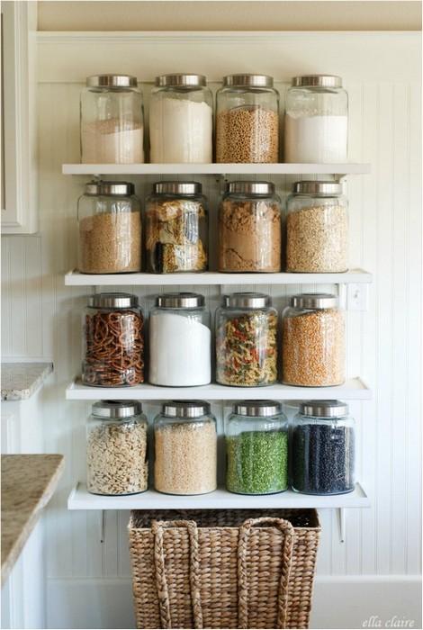 Крутая идея и для хранения, и для декора.