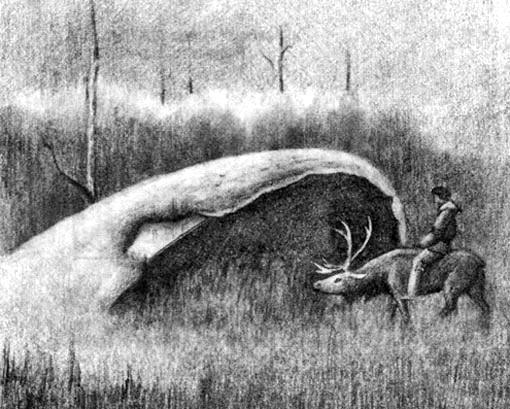 Художник Юрий Михайловский нарисовал котлы на основе рассказов охотников.