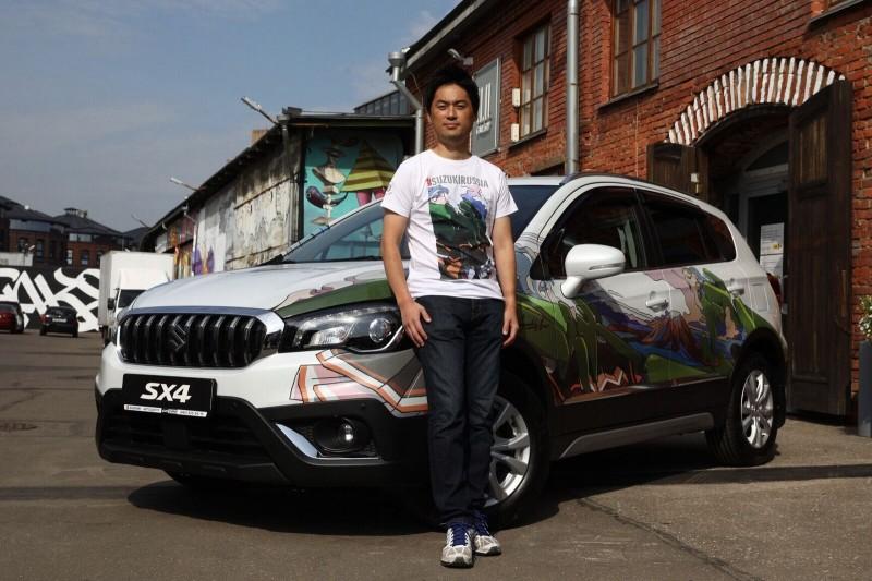 На Винзаводе показали самую красивую Suzuki в мире