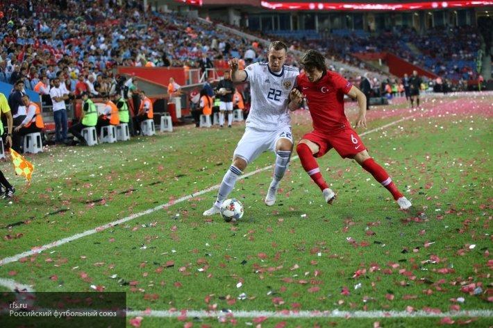 Все в сборе: Дзюба и Дзагоев вернулись в общую группу перед матчем с Турцией