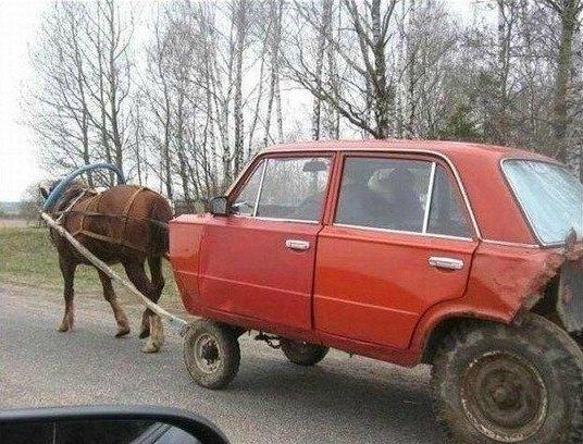 Россия!!! Автоприколы.