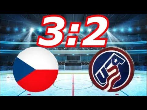 Чехия - Сша 3:2 Хоккей 2018, Олимпиада Пхенчхан