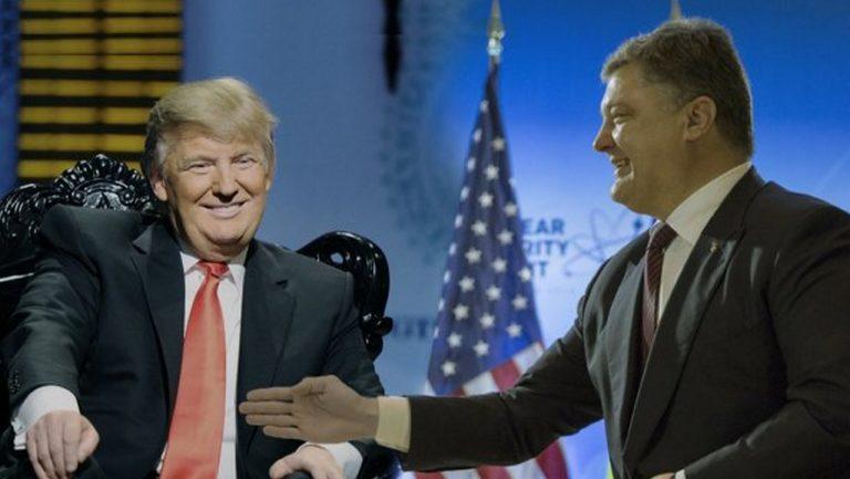 Украина попала под санкции США. Зачем Трамп добивает Порошенко