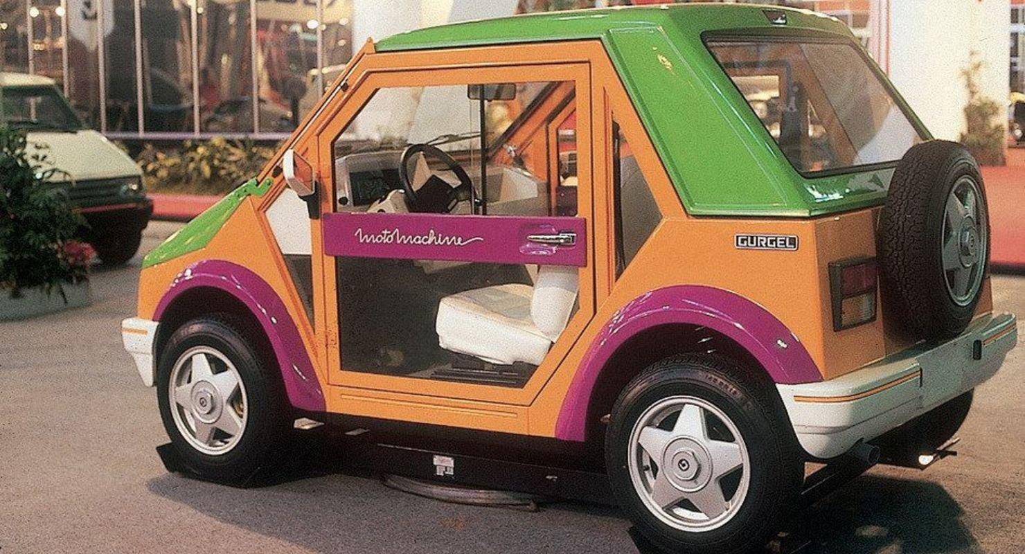 Бразильский автомобиль с модульным корпусом Автомобили