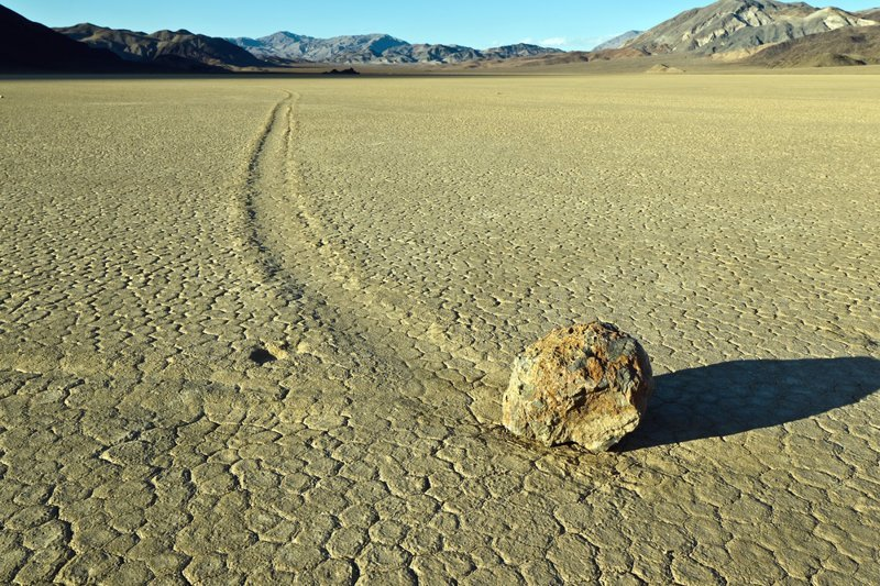 Движущиеся камни природа, природные явления, удивительная природа