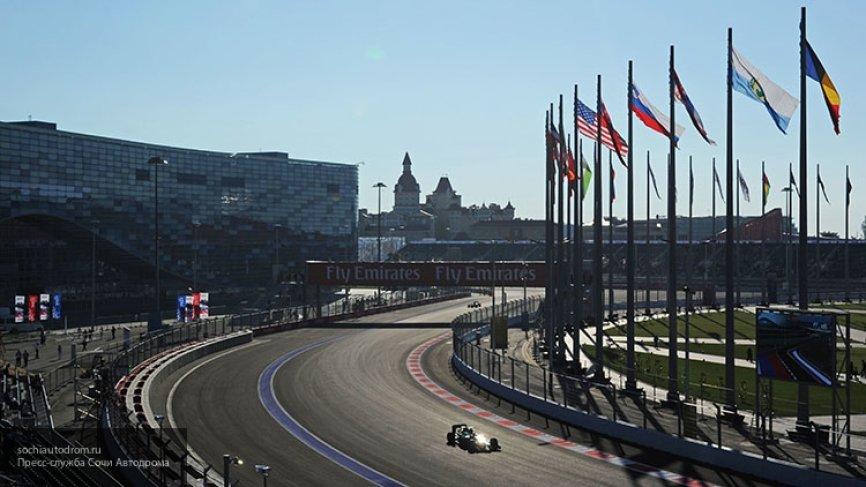 Путин и Эрнст появились на трибунах Гран-при «Формулы – 1» в Сочи