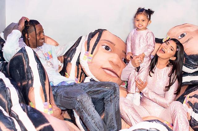 Трэвис Скотт рассказал о воспитании их с Кайли Дженнер дочери Сторми Звездные дети