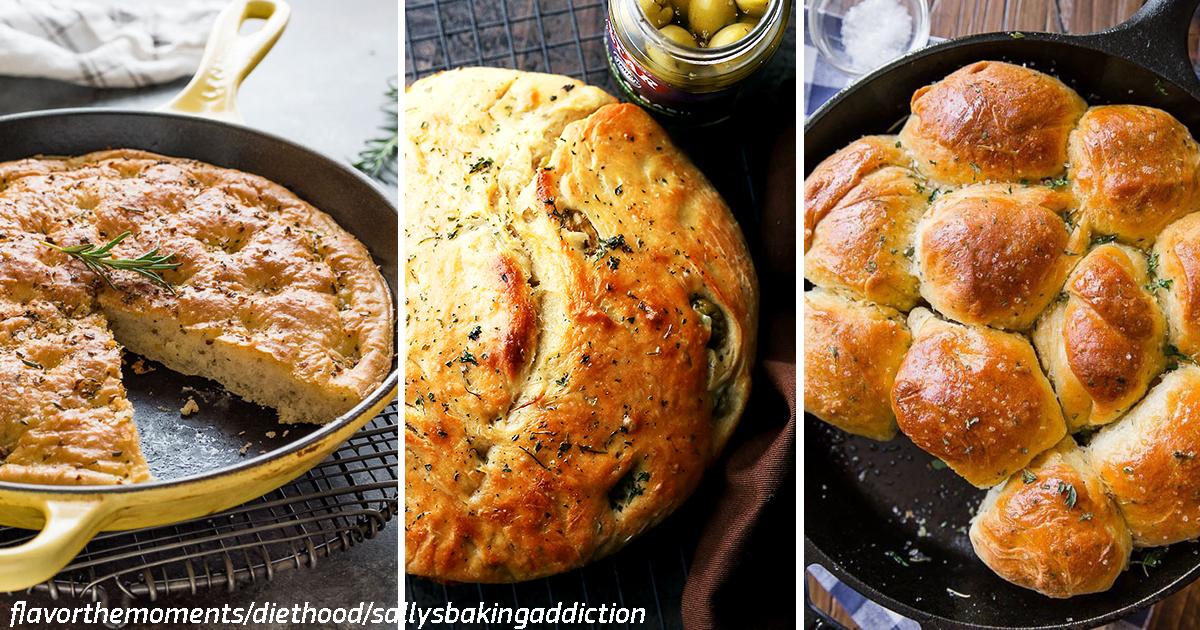 Хлеб можно испечь прямо в сковороде! Вот 7 лучших рецептов