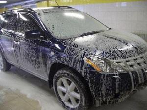 АВТОМОТО. Как помыть машину зимой