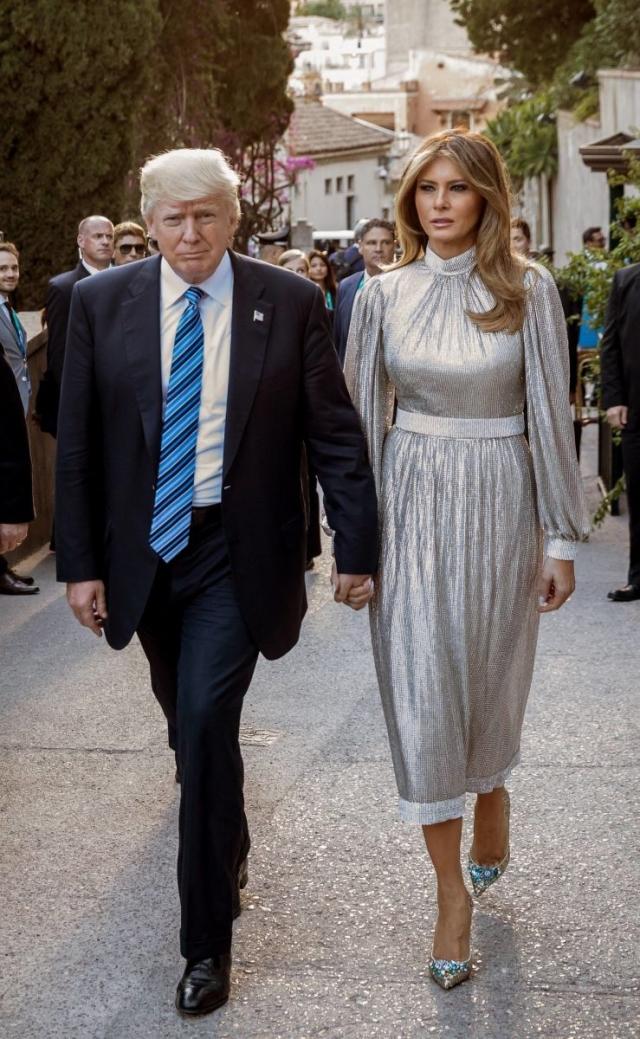 Самые дорогие образы Мелании Трамп — разбор гардероба первой леди США