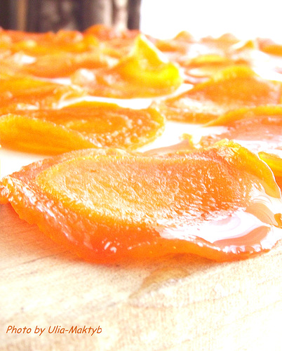 Морковно-лимонные цукаты