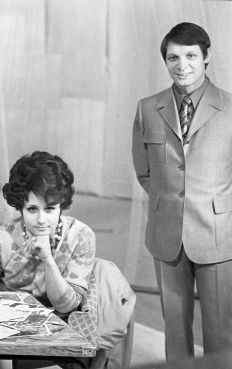 Знаменитости 1970-тых  на снимках Дмитрия Воздвиженского 1970 годы