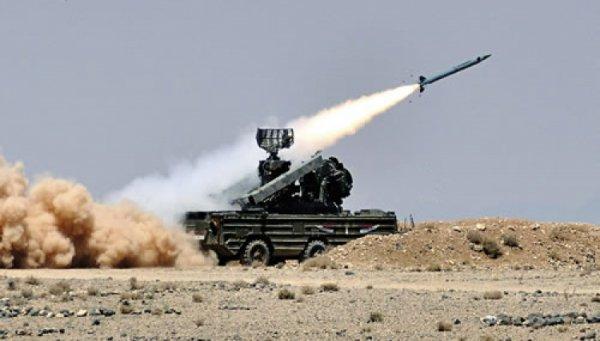 Ракета ЗРК «Оса» поразила военный вертолёт под Дамаском