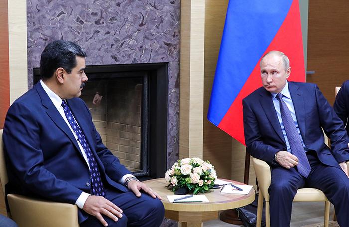 Обзор инопрессы. Венесуэла — новая фигура в игре России и США