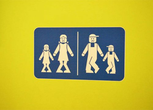 Прикольные таблички для туалетов