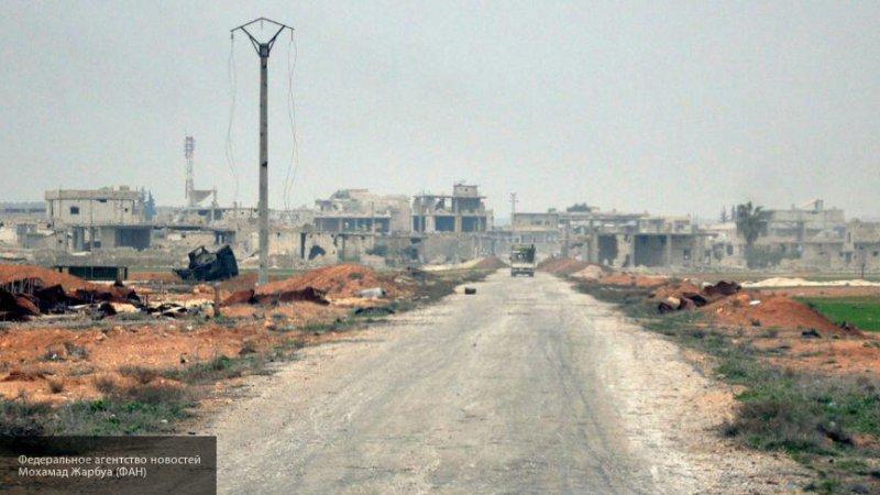 Вертолет сирийских ВВС атаковал позиции боевиков на юге Идлиба