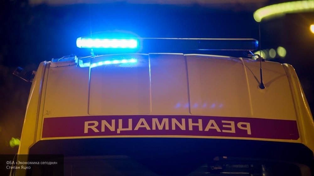 Под Рязанью иномарка протаранила столб и улетела в кювет: водитель погиб