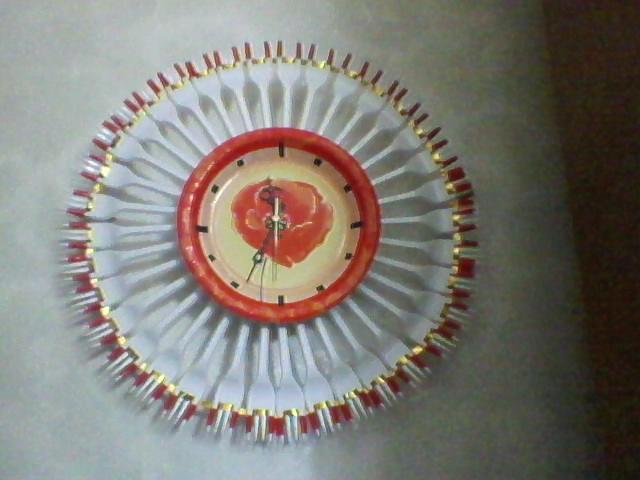 Часы сделанные из пластинки своими руками