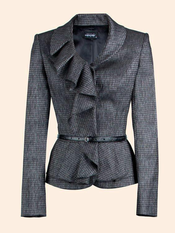 Модные образы этой осени: пиджаки с необычным кроем гардероб,красота,мода,мода и красота,модные образы,модные сеты,модные советы,модные тенденции,одежда и аксессуары,стиль,стиль жизни,уличная мода,фигура