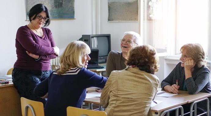 Можно ли выучить новый язык после пятидесяти? возраст,иностранные языки,мозг,самореализация,старшее поколение