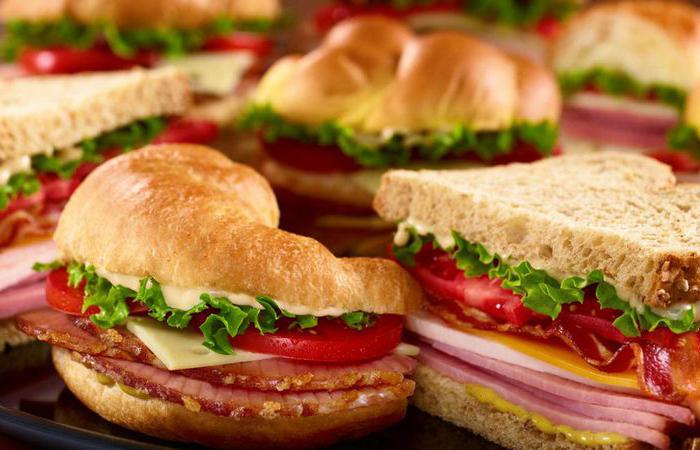 Рецепты бутербродов.