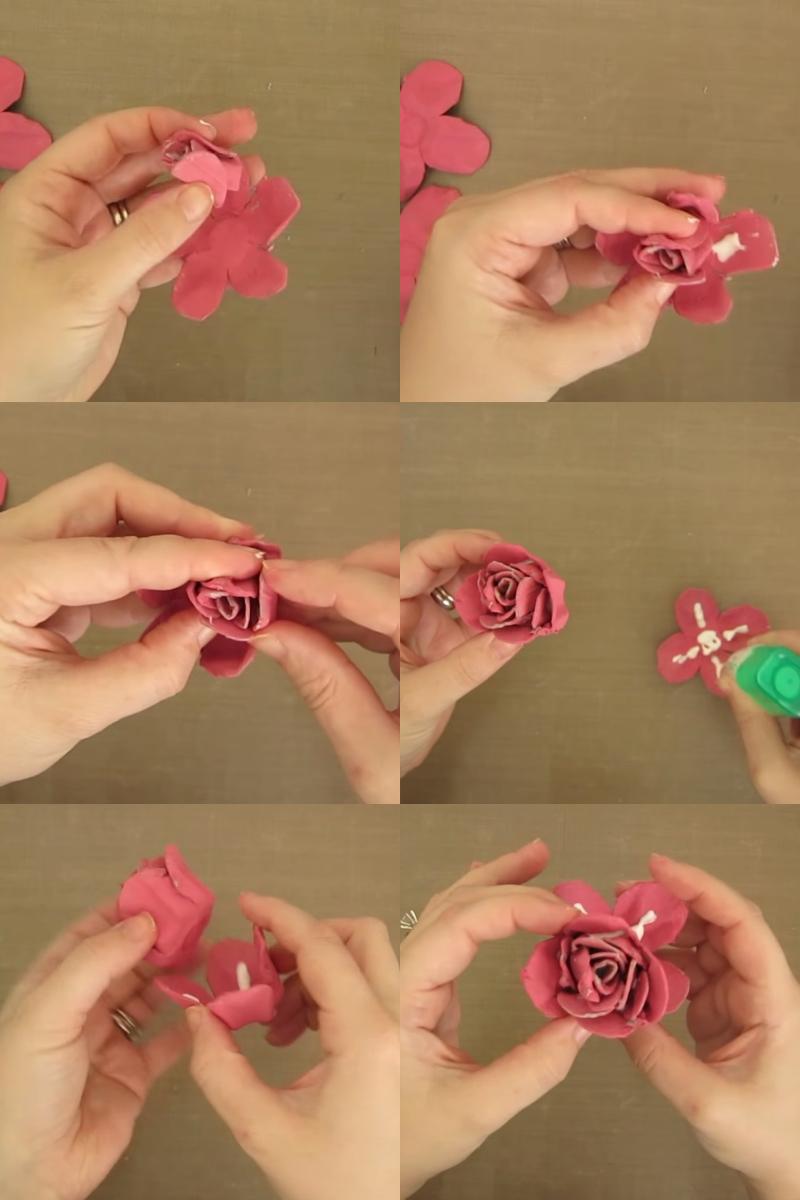 как сделать искусственные цветы своими руками из бумаги