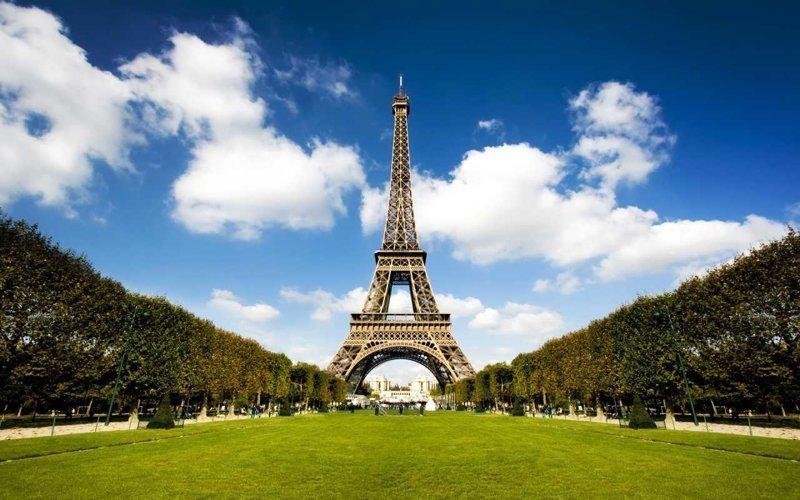 2. Париж города, европа, красивые, самые